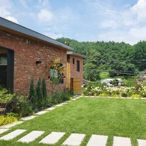 분당 OO동 주택정원 설계 및 시공