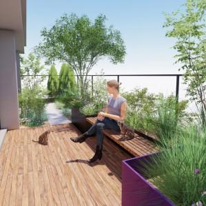 수내동 테라스 정원 설계